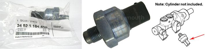 Genuine Bmw Dsc Pressure Sensor 3 Series E46 5 Series 6