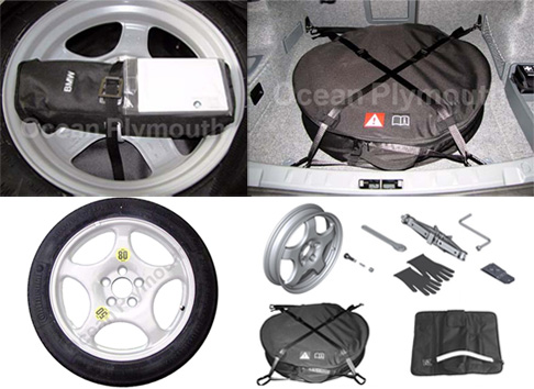 Genuine Bmw Space Saver Spare Wheel Kit 1 Amp 3 Series